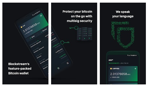 Aplikasi Green: Bitcoin Wallet wallet bitcoin - 6 Green Bitcoin Wallet - 5 Aplikasi Wallet Bitcoin di Android Terbaik