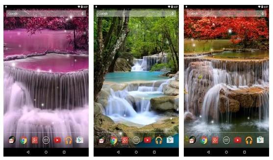 Aplikasi Waterfall Live Wallpaper 5 aplikasi live wallpaper - 8 Waterfall Live Wallpaper - 5 Aplikasi Live Wallpaper di HP Android Terbaik