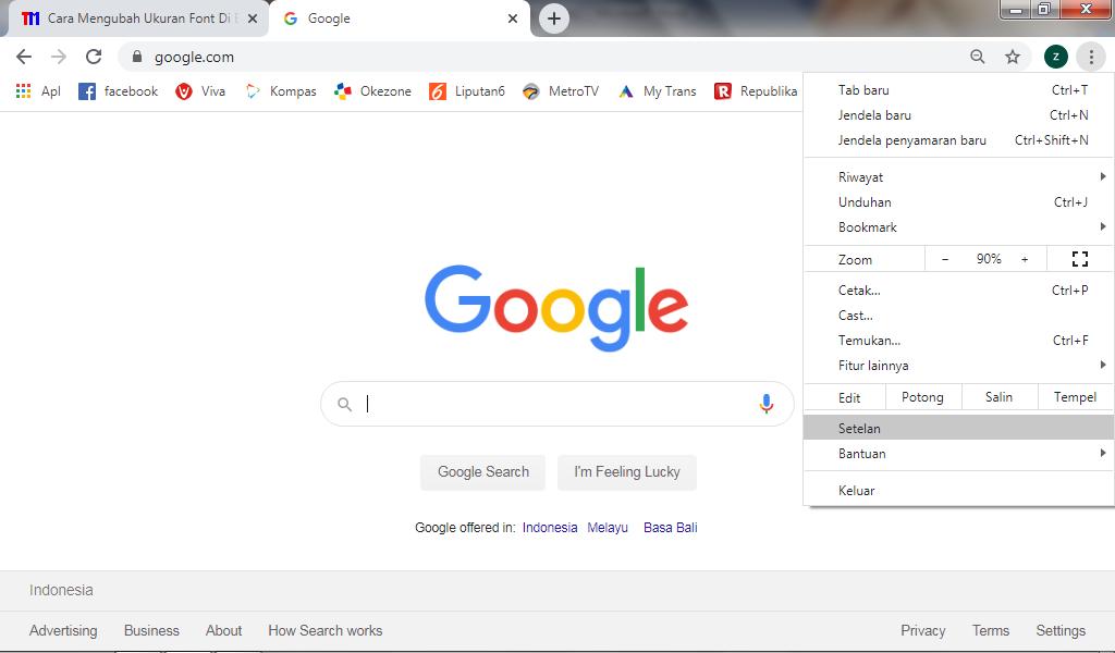 font chrome - Cara Memperbesar Ukuran Teks Di Google Chrome Laptop 3 - Cara Memperbesar Ukuran Teks Di Google Chrome