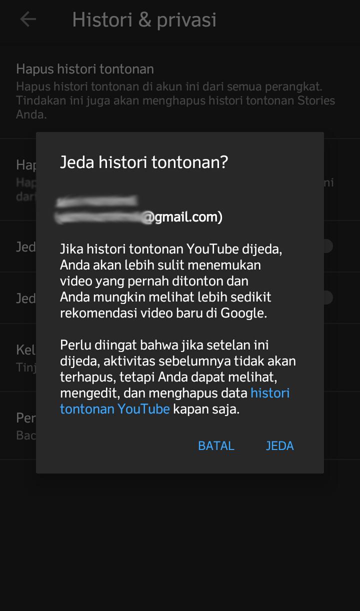 cara menghapus riwayat penelusuran youtube di hp android - Cara Menonaktifkan Histori Tontonan di Youtube Android step 5a 1 - Cara Menghapus Histori Riwayat Penelusuran Tontonan di Youtube Android.