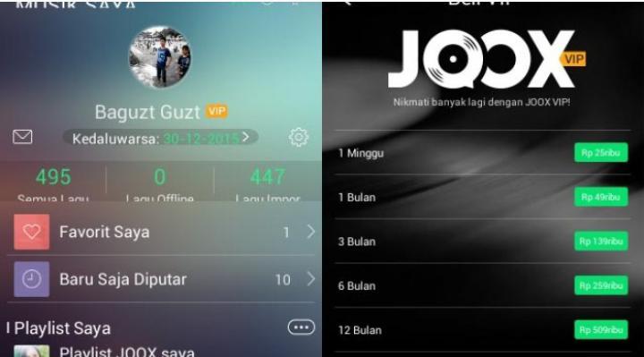 Cara mendapatkan JOOX VIP gratis selama 1 bulan cara mendapatkan joox vip gratis - 3 - Cara Mendapatkan JOOX VIP Gratis