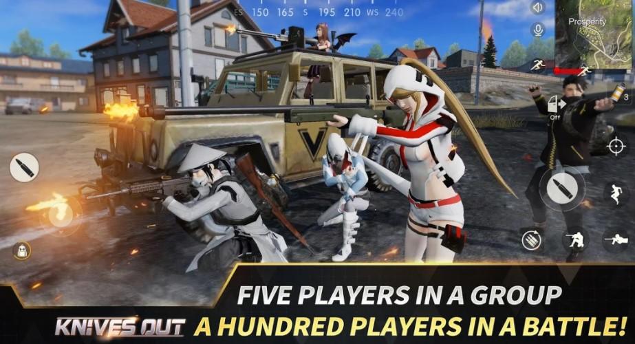 game lebih seru dari pubg - Knives Out No rules just fight - 5 Game Lebih Seru dari PUBG Wajib Coba Anda Mainkan