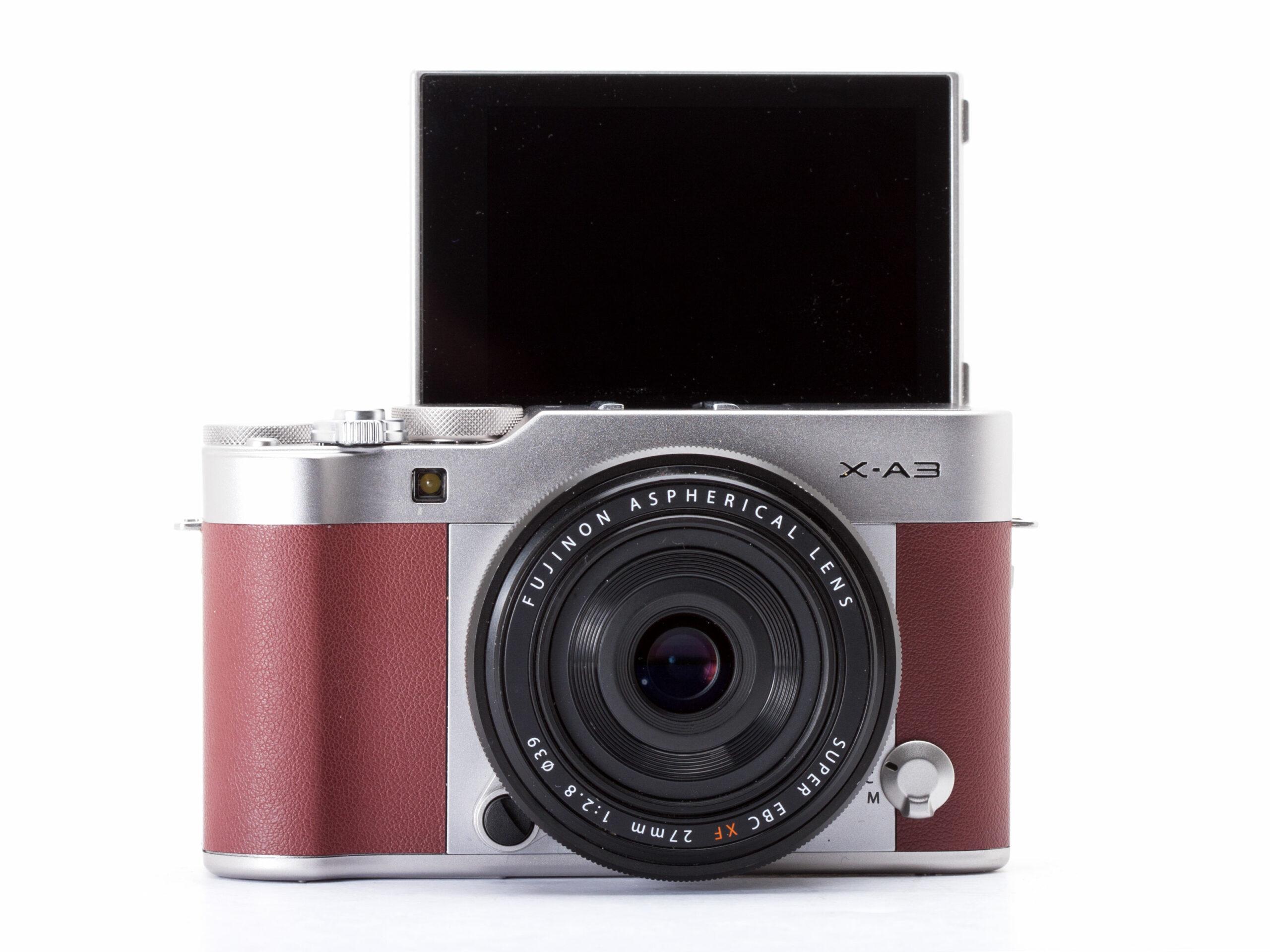 Kamera Vlog untuk Youtuber kamera vlog murah - Fujifilm X A3 scaled - 7 Kamera Vlog Murah Terbaik untuk Youtuber Pemula