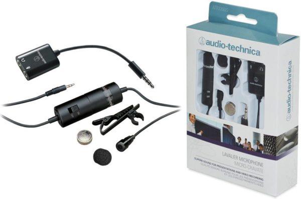 mikrofon hp untuk vlog - ATR3350IS Clip on - 7 Mikrofon HP untuk Vlog Terbaik dengan Harga Murah