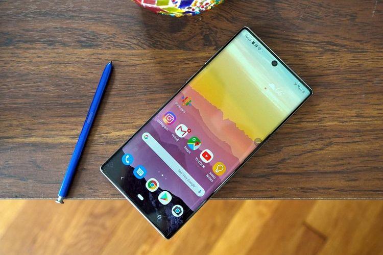 HP dengan Fitur Video 4K hp dengan fitur video 4k - Samsung Galaxy Note 10 - 7 Rekomendasi HP dengan Fitur Video 4K Terbaik, Cocok Buat Nge-vlog
