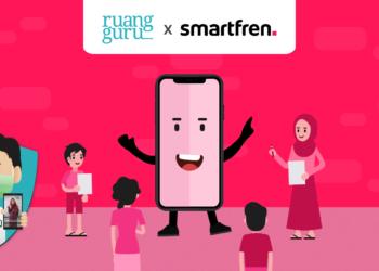paket ruangguru dengan smartfren - ruang guru   Smartfren 01 350x250 - Kuota 30GB Paket Ruangguru dengan Smartfren