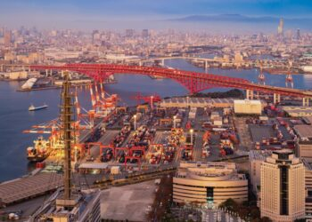 pemasaran produk ke tiongkok - aerial view of container cargo ship in the export and import business and logistics international t20 nRdaK6 350x250 - Tips Marketing dan Pemasaran Produk ke Tiongkok