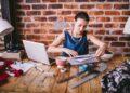 teknologi big data - business fashion office woman laptop desk papers professional ruler designer t20 QQABrA 120x86 - Big Data : Teknologi yang Memudahkan atau Sekedar Mitos?