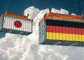 Jalur Distribusi Ekspor usaha paling laris di kampung - two freight container with german and japan flag design freight transportation goods import t20 VL038b 120x86 - Usaha Paling Laris Di Kampung